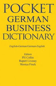Pocket German Business Dictionary